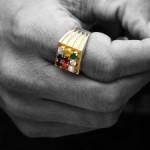 sognare anello con diamante