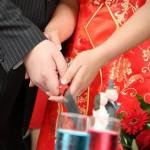 sognare vestito da sposa rosso