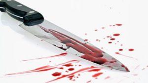 sognare coltello con sangue