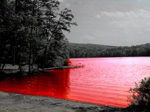 sognare lago di sangue