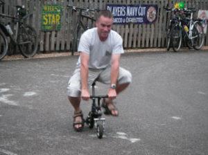 sognare bicicletta piccola