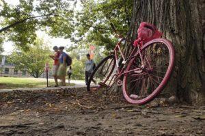 sognare bicicletta rossa