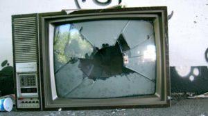 sognare televisore rotto