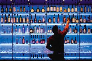 sognare bar