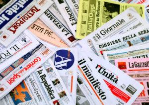 sognare tanti giornali