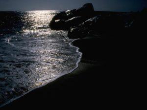 sognare notte mare