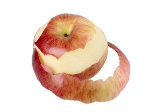 sognare mela sbucciata