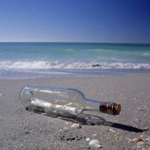 sognare messaggio bottiglia