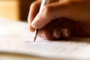 sognare scrivere lettera
