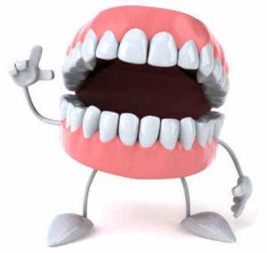 sognare dentiera