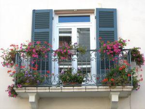 sognare balcone