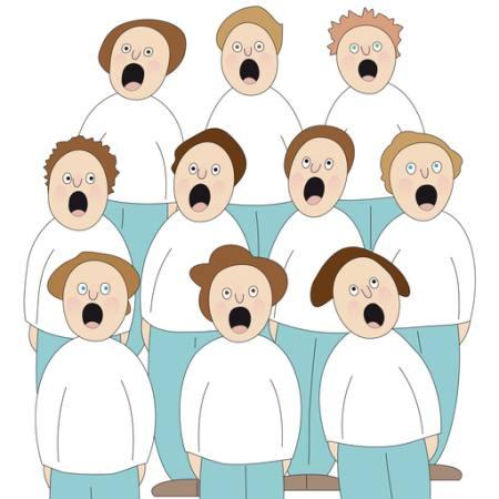 sognare cantare in chiesa