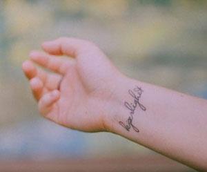 sognare tatuaggio polso
